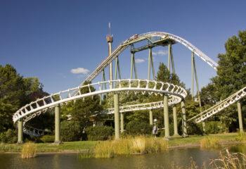 Achterbahn Big Loop im Heide Park