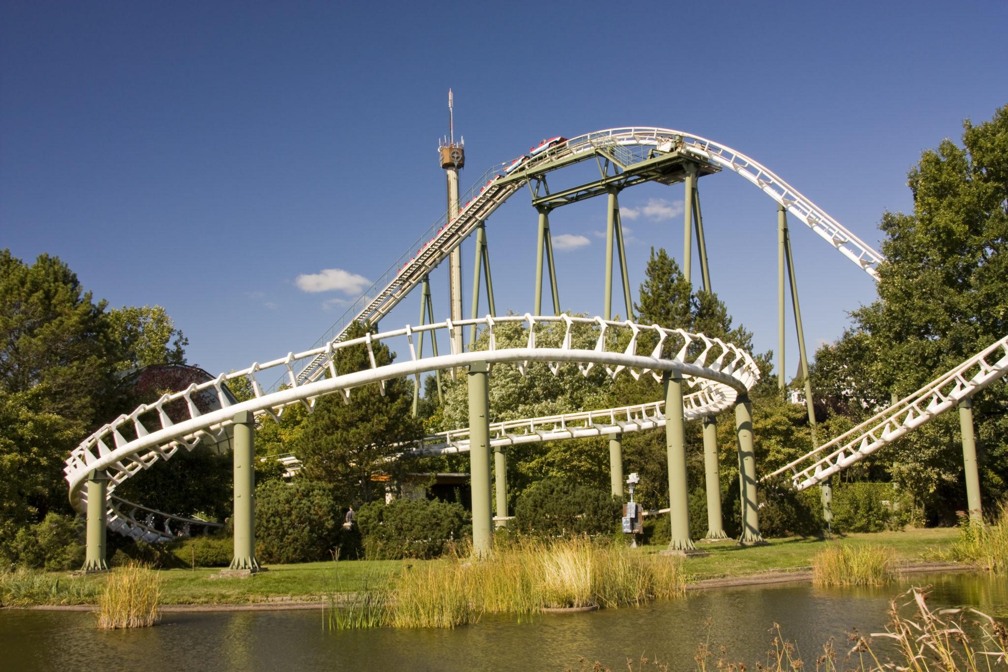 Achterbahn Big Loop im Heidepark Soltau