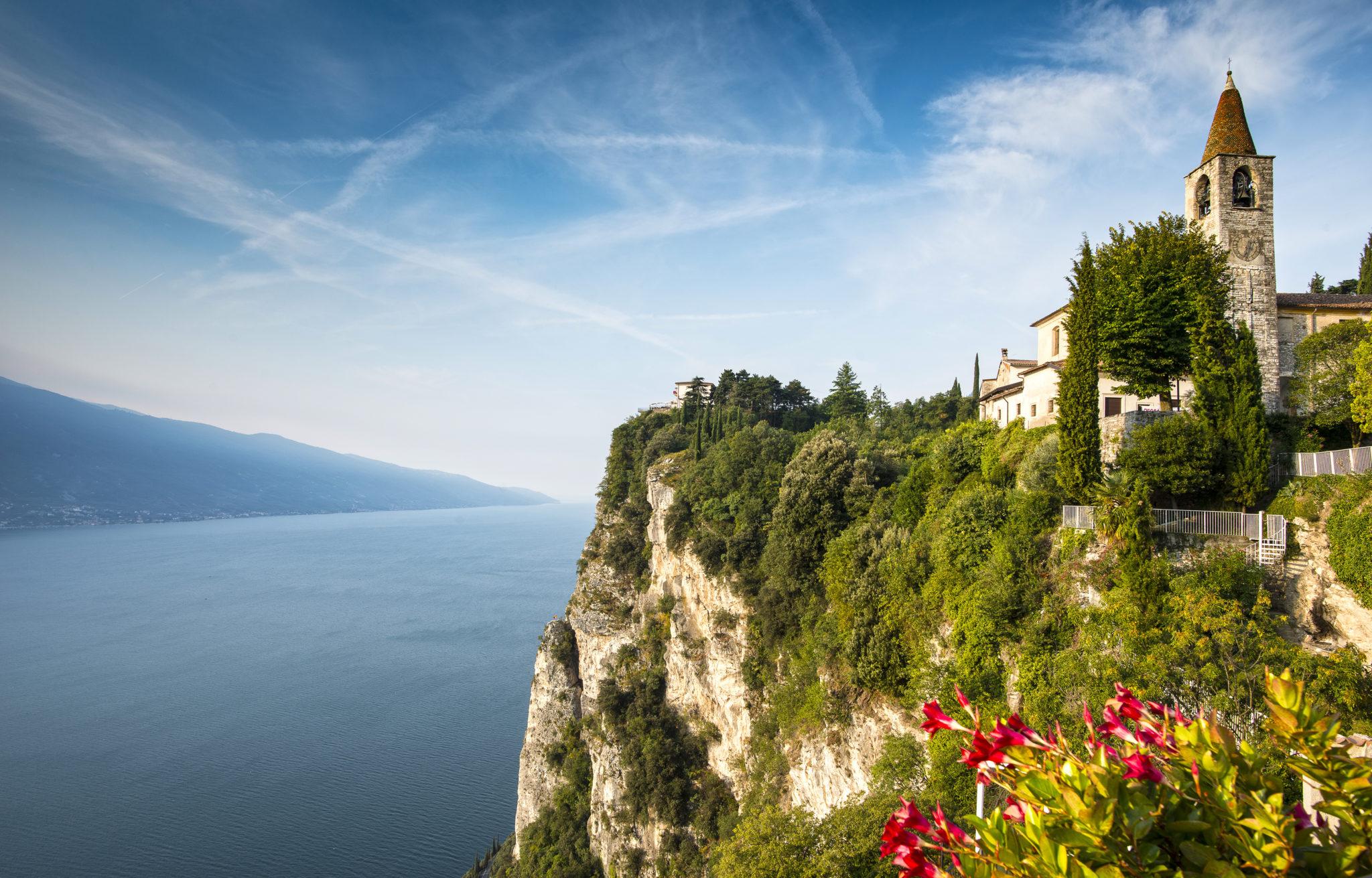 Traumhafte Ausblicke am Gardasee