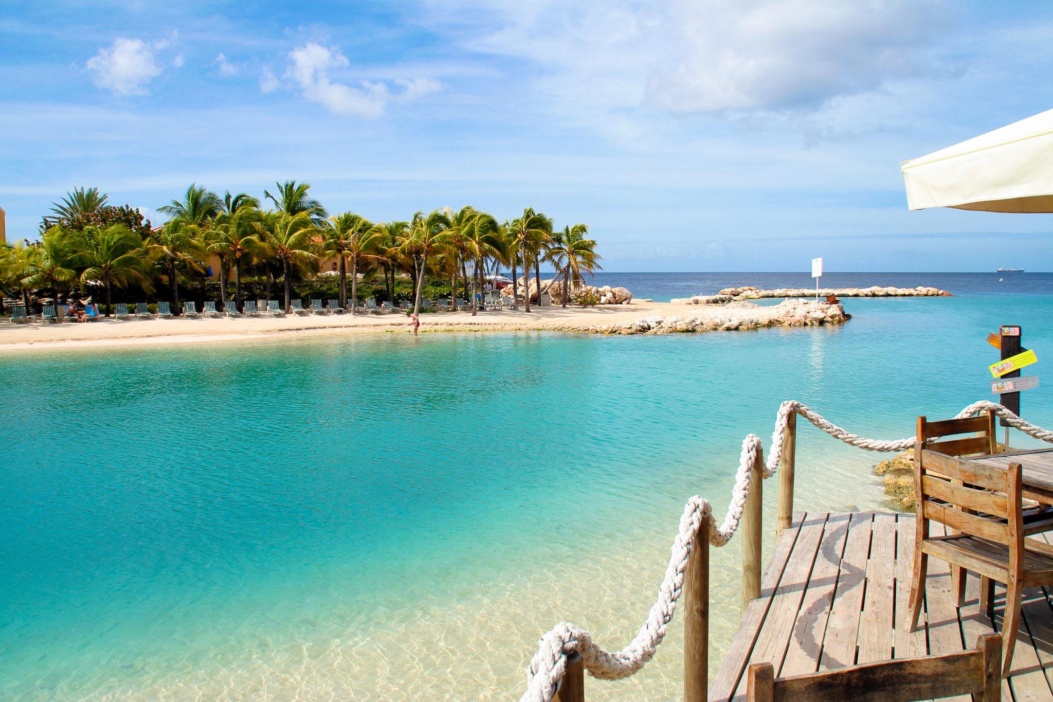 Mambo Beach auf Curacao