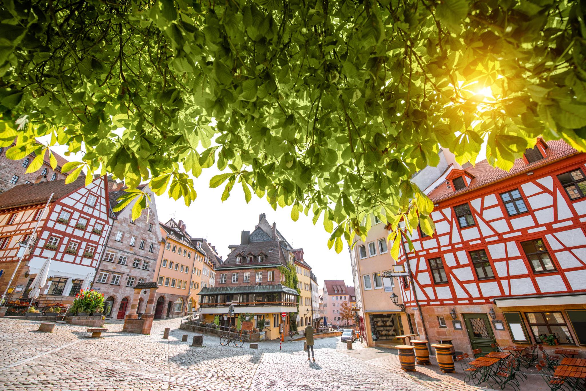 Die Altstadt von Nürnberg