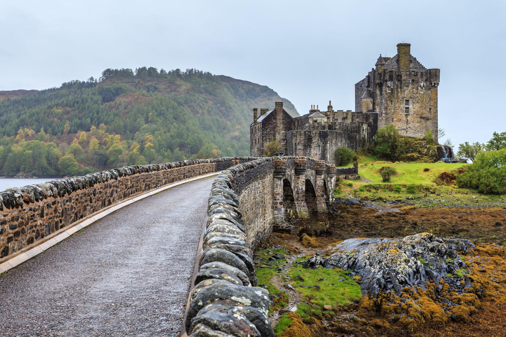 Eilan Donan Schloss in Schottland