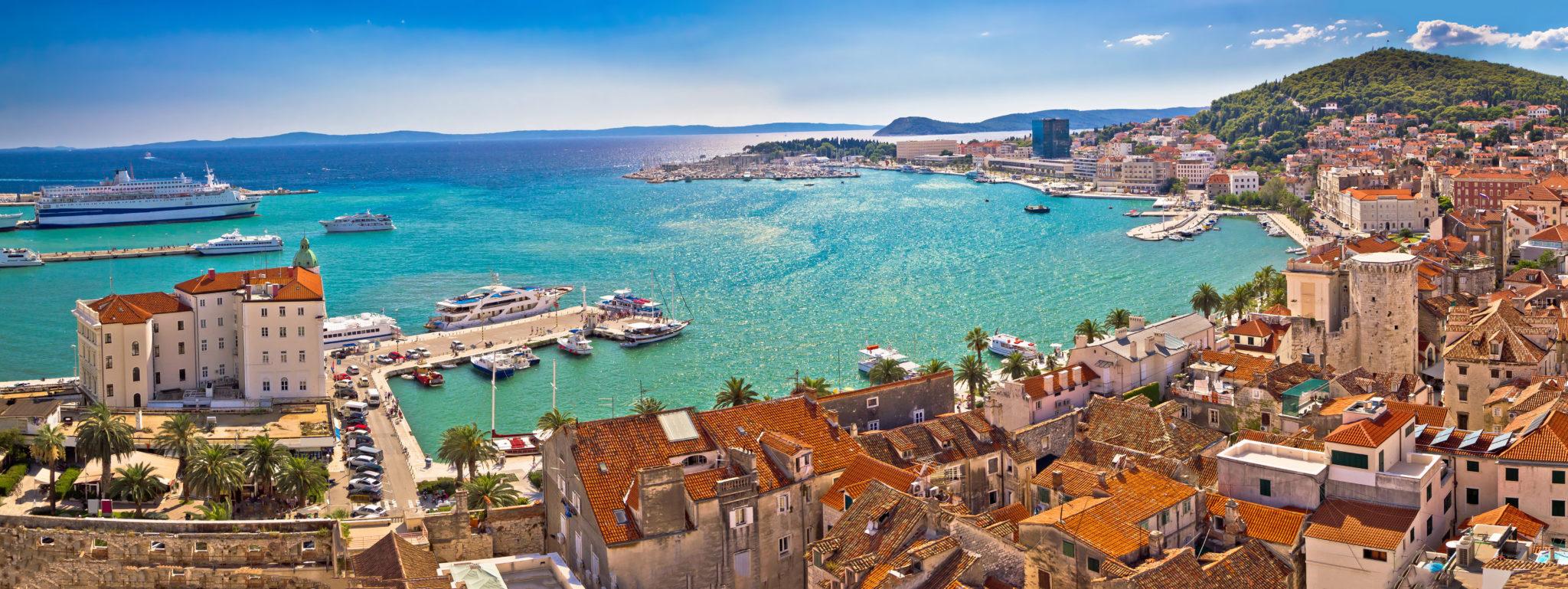 Die Marina von Split
