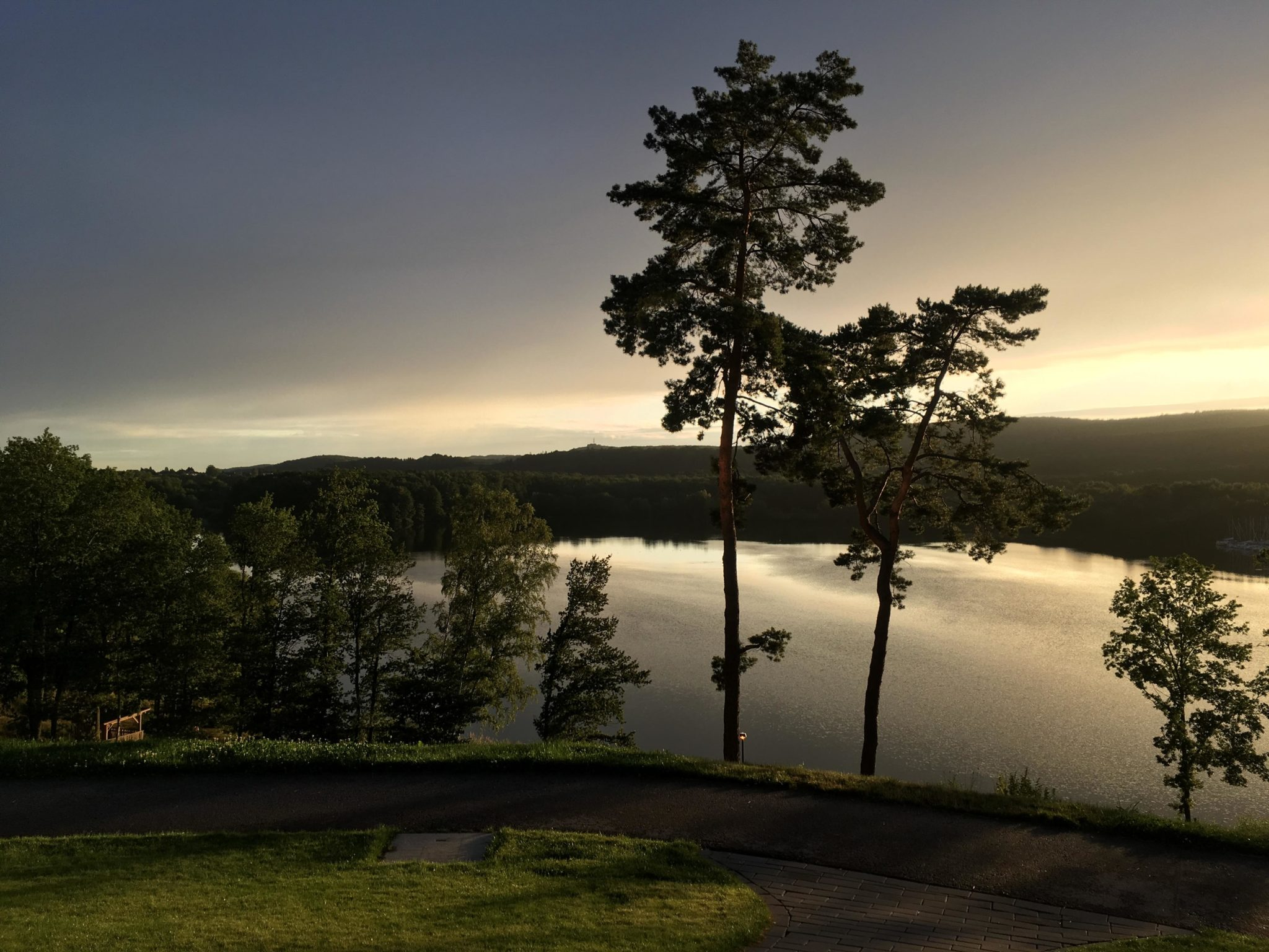 Blick auf den Bostalsee