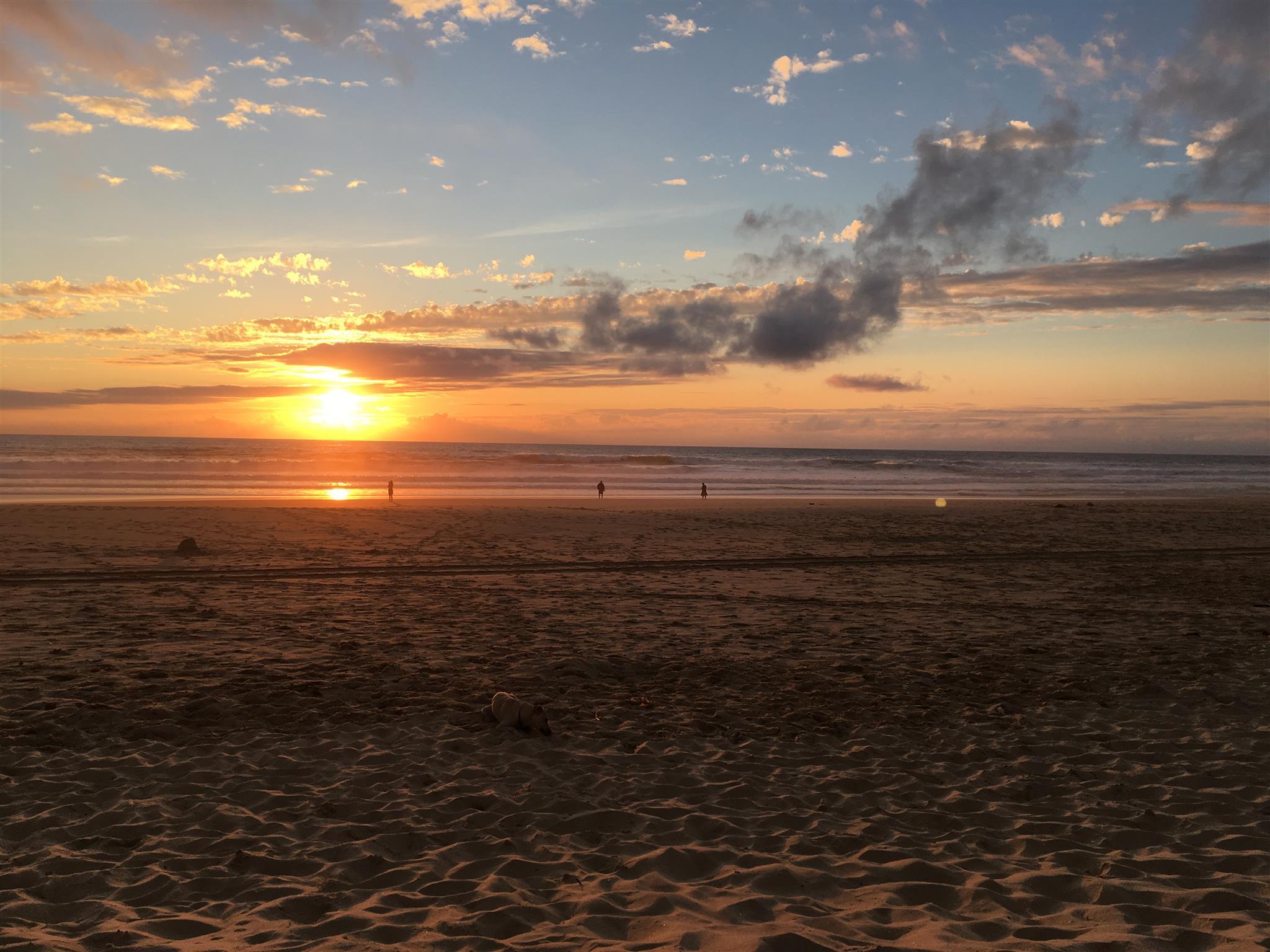 Sundowner am Atlantik