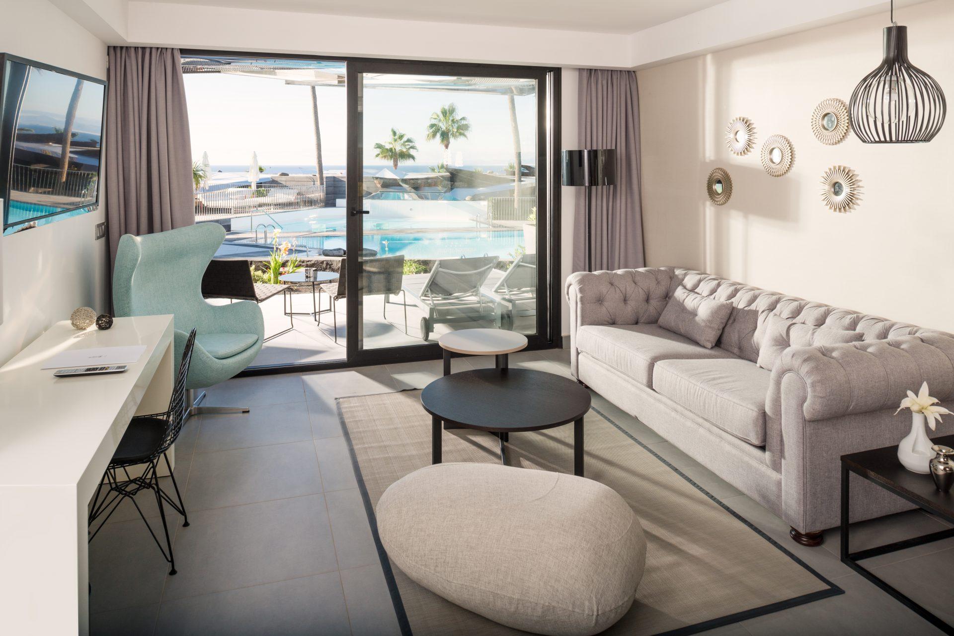 Zimmer im nachhaltigen La Isla y el Mar Hotel
