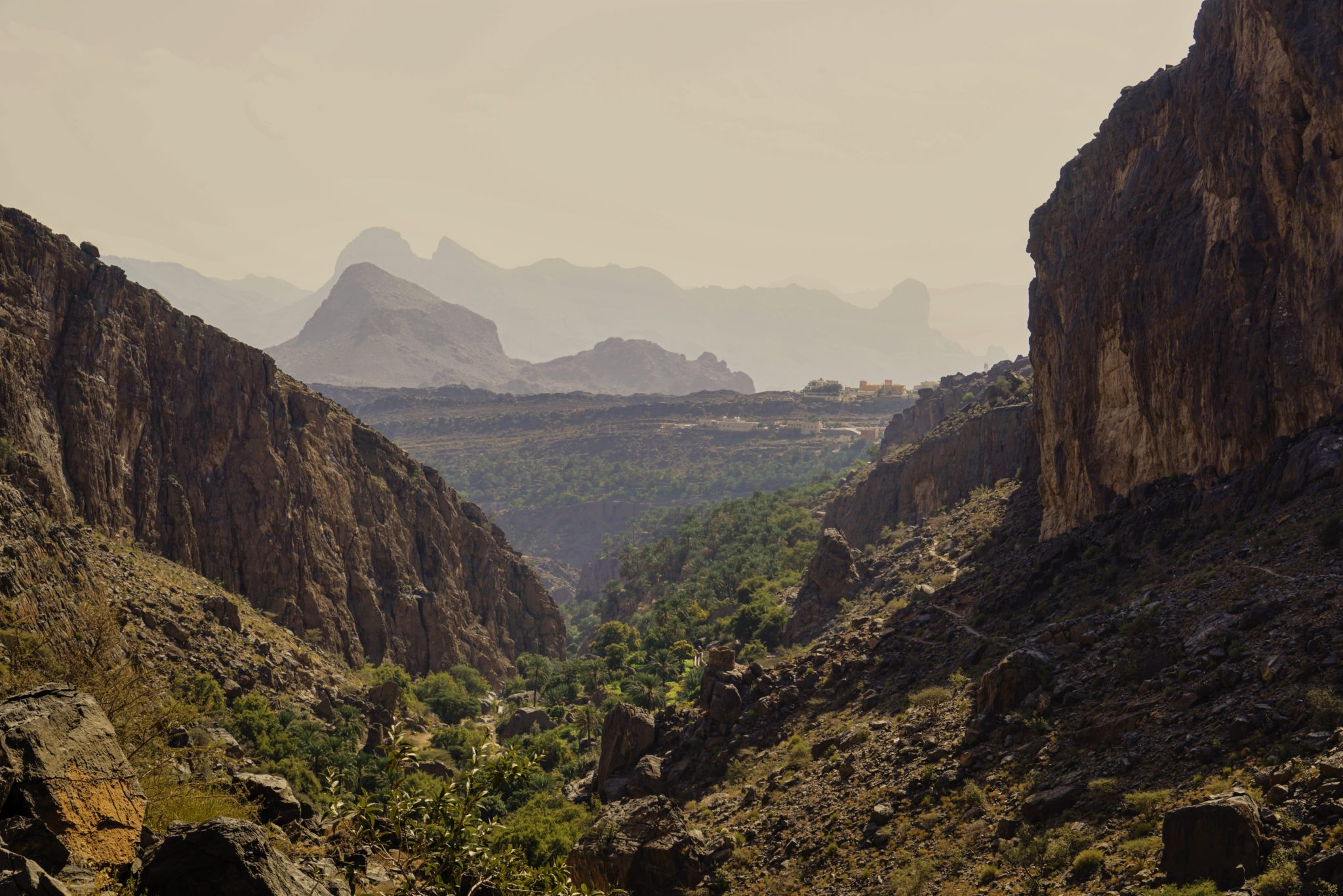 Al Hajar Gebirge Oman