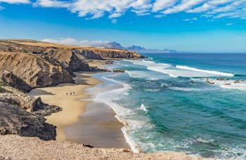 Playa del Viejo Reyes auf Fuerteventura