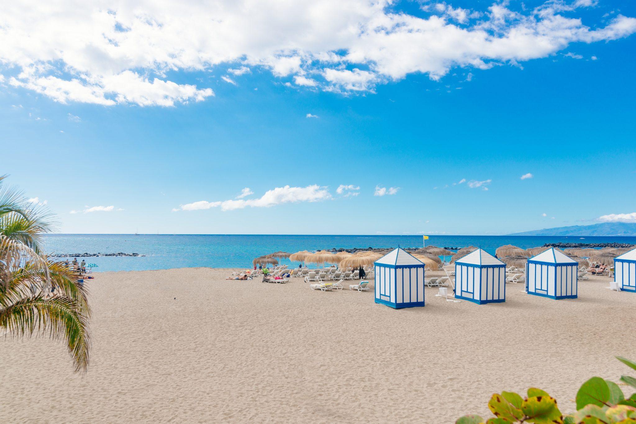 Playa del Duque an der Costa Adeje