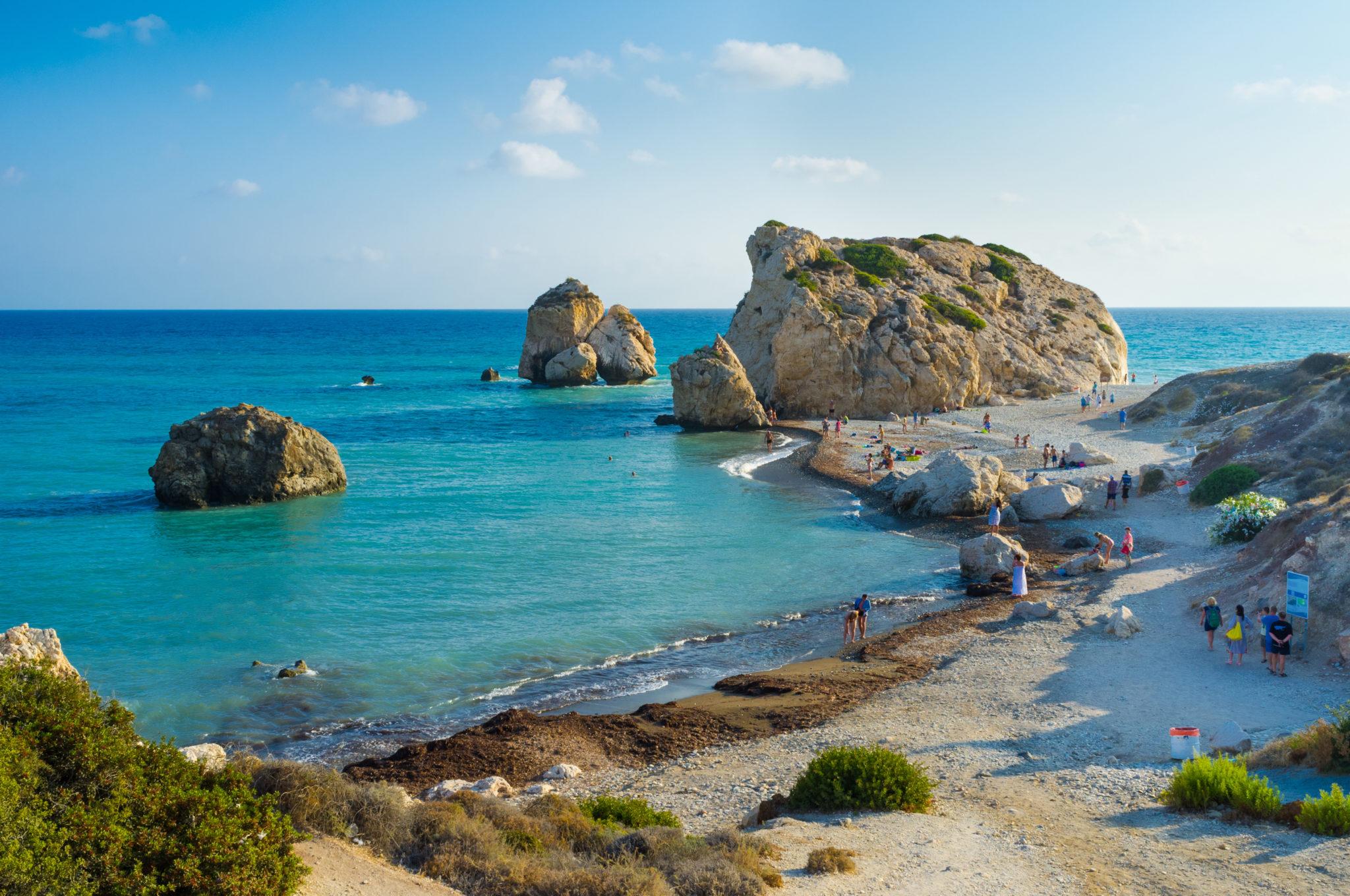 Traumstrand auf Zypern