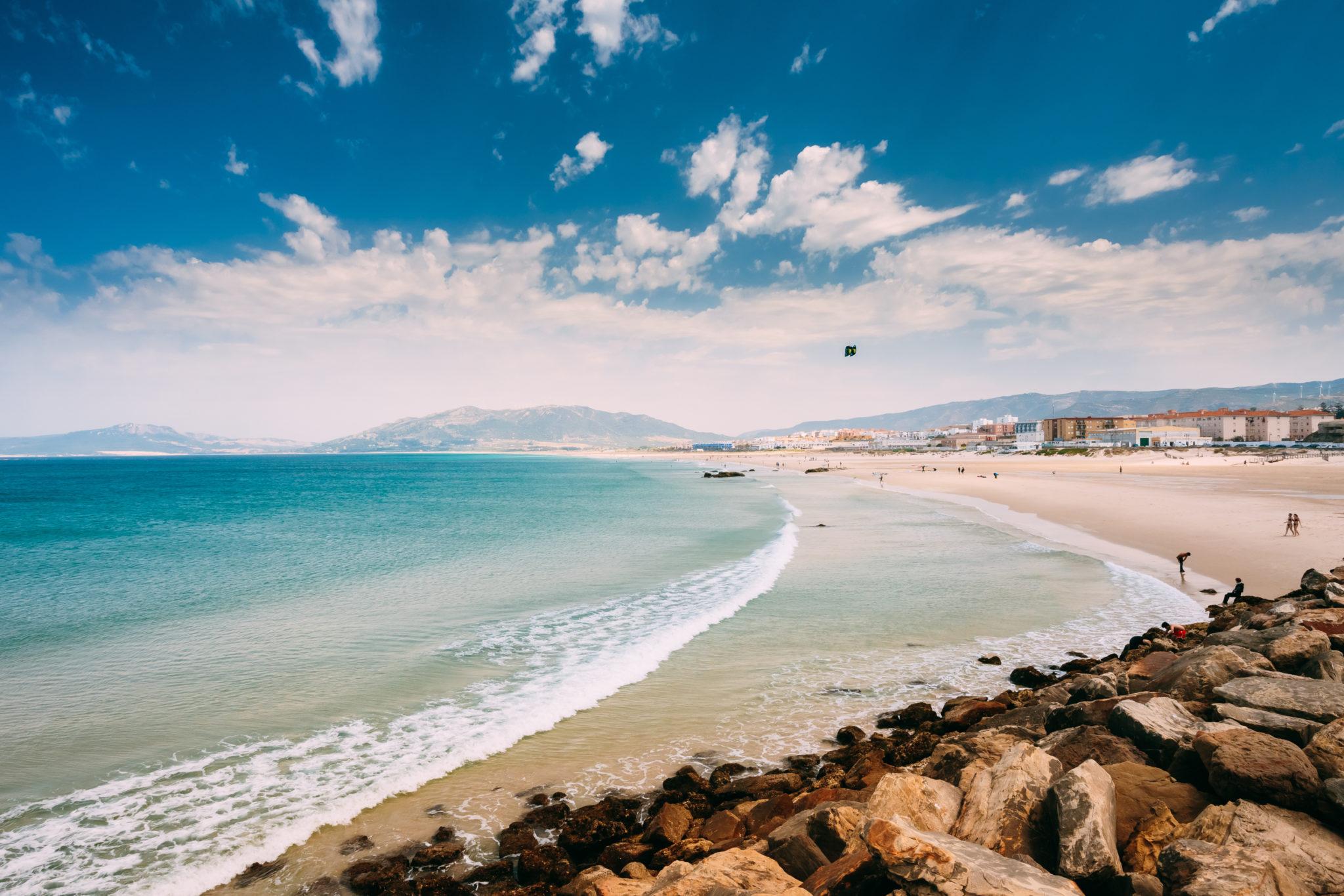 Strand nahe Tarifa in Andalusien