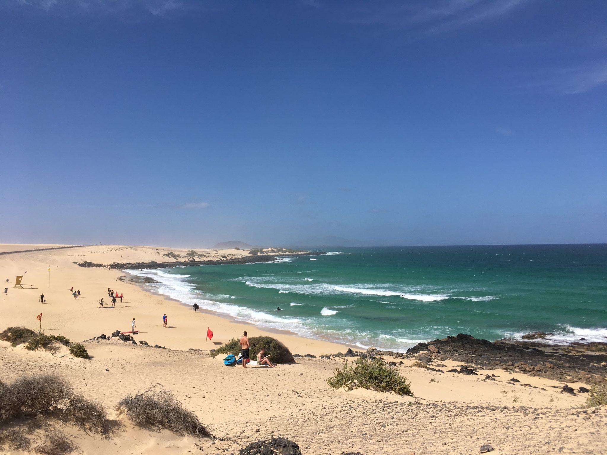 Playa del Moro auf Fuerteventura