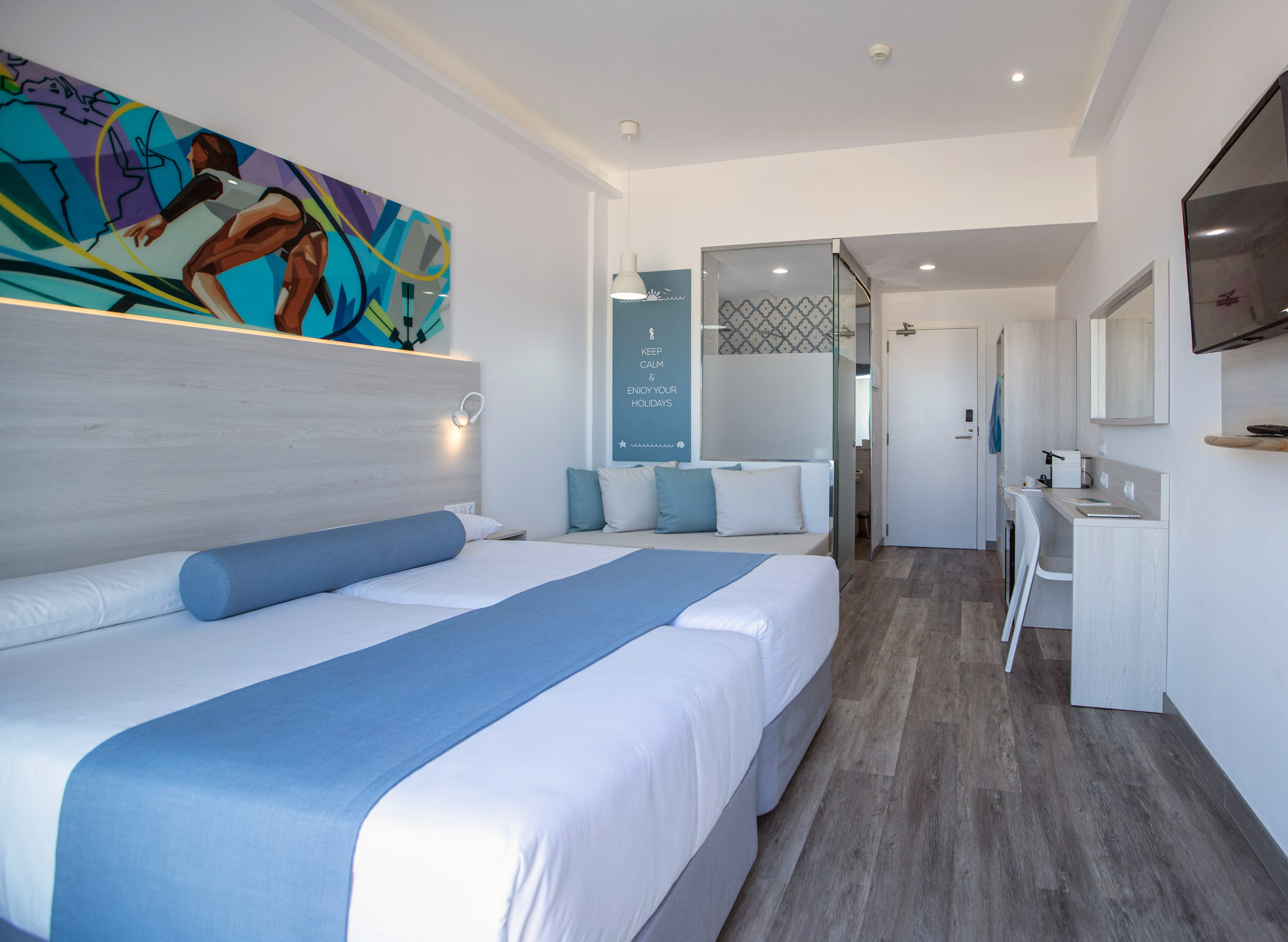 Surfing Dreams Doppelzimmer im Hotel Surfing Colors