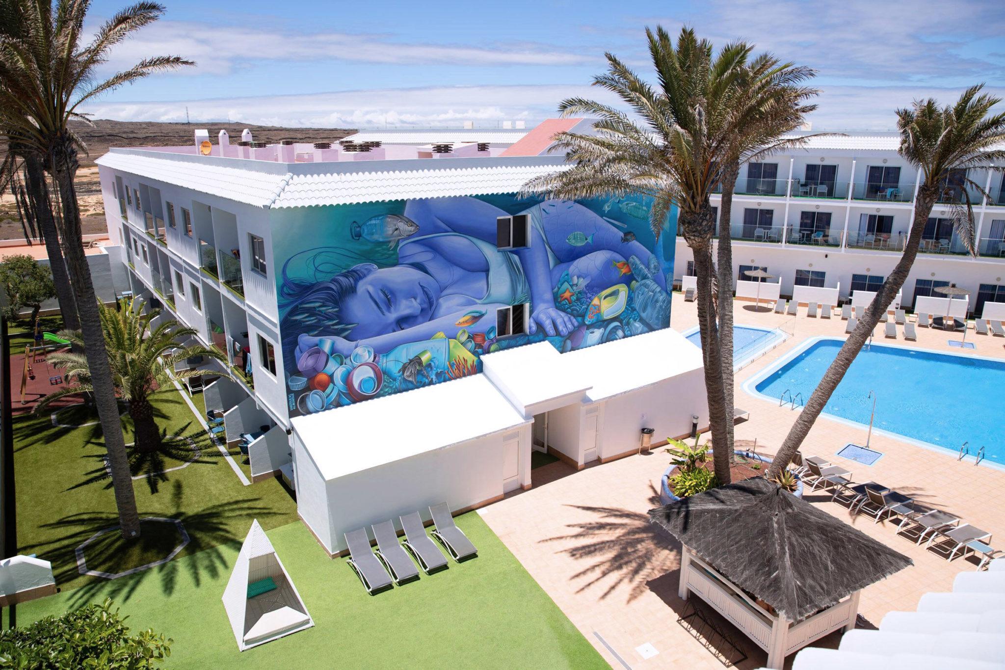 Das Hotel Surfing Colors nach Renovierung im Juli 2019