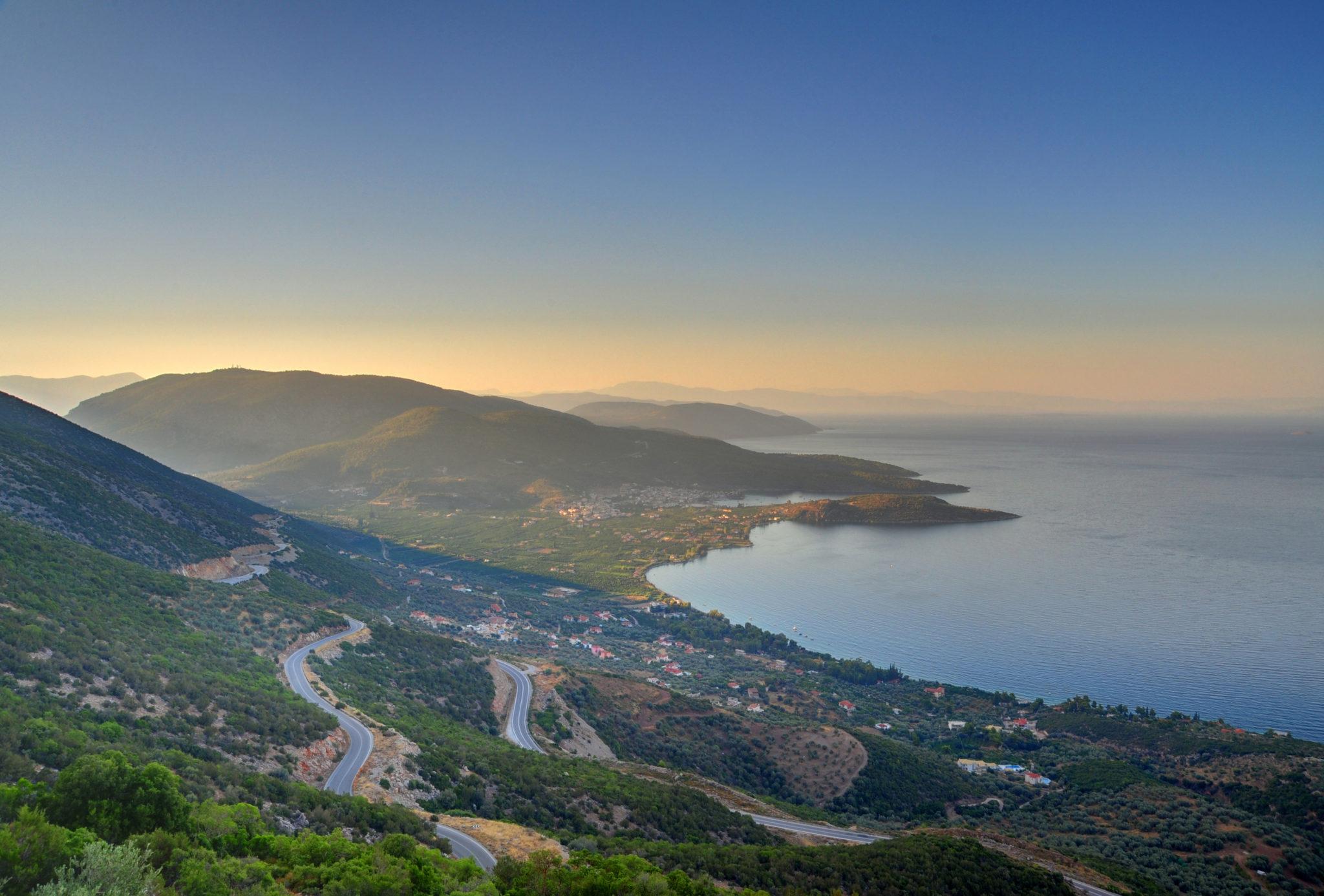 Küste bei Nafplio - Peloponnes