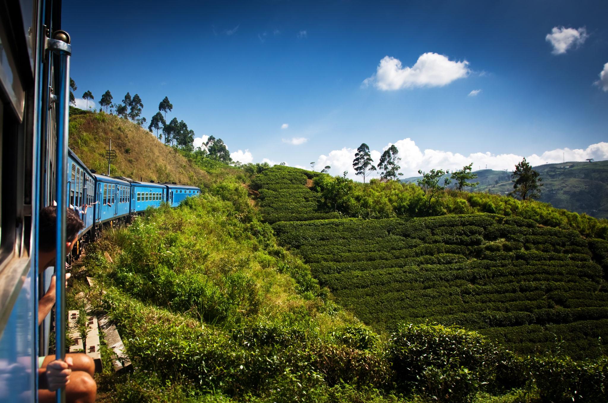 Mit dem Zug von Ella nach Kandy