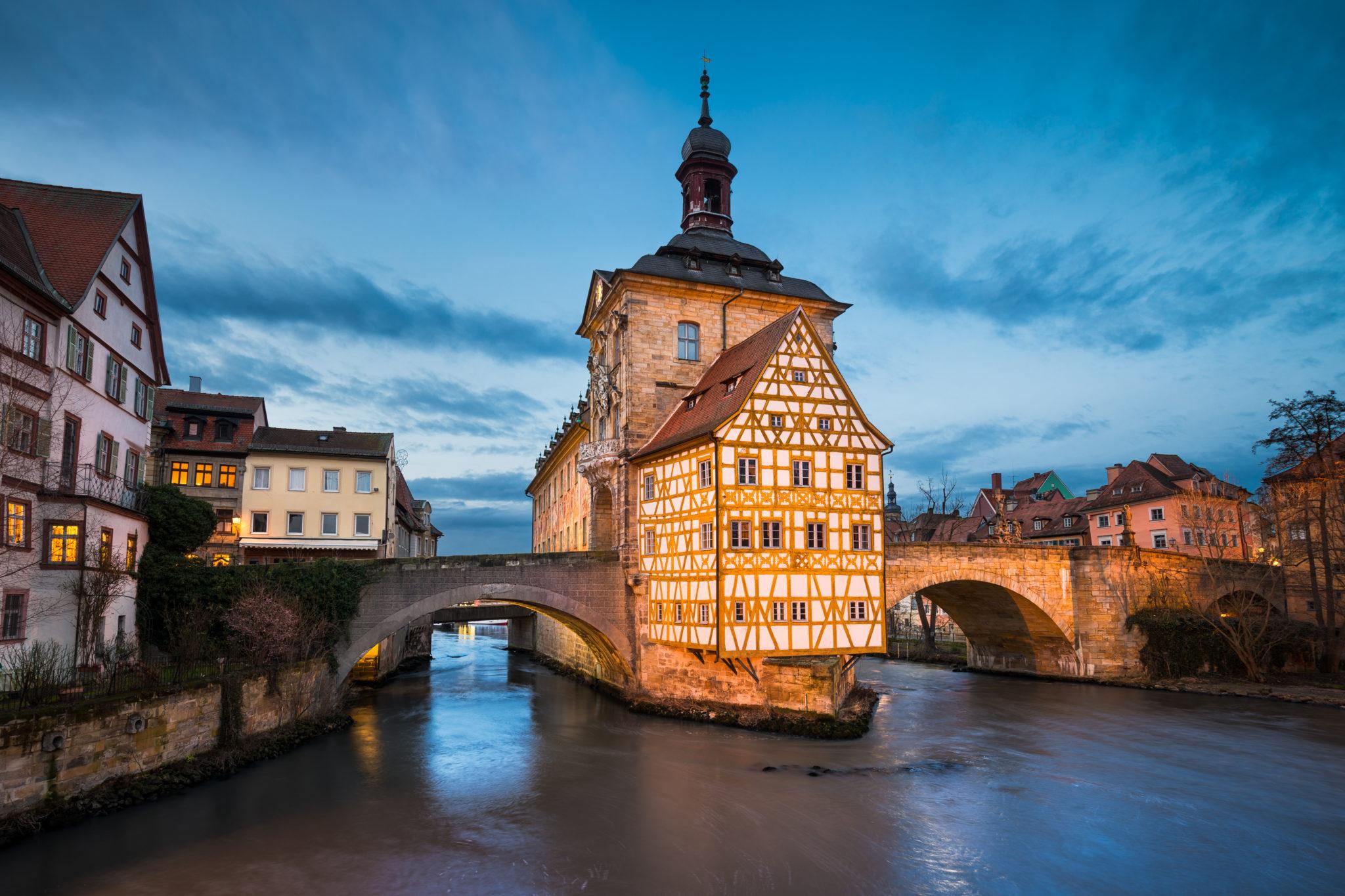 Das alte Rathaus von Bamberg