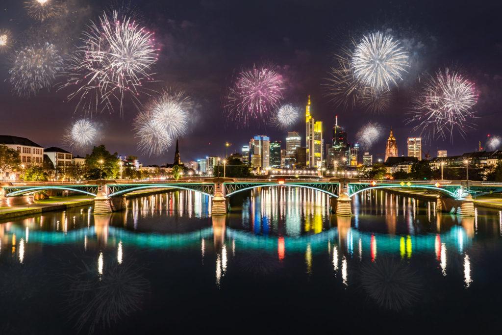 Silvester Frankfurt Feuerwerk