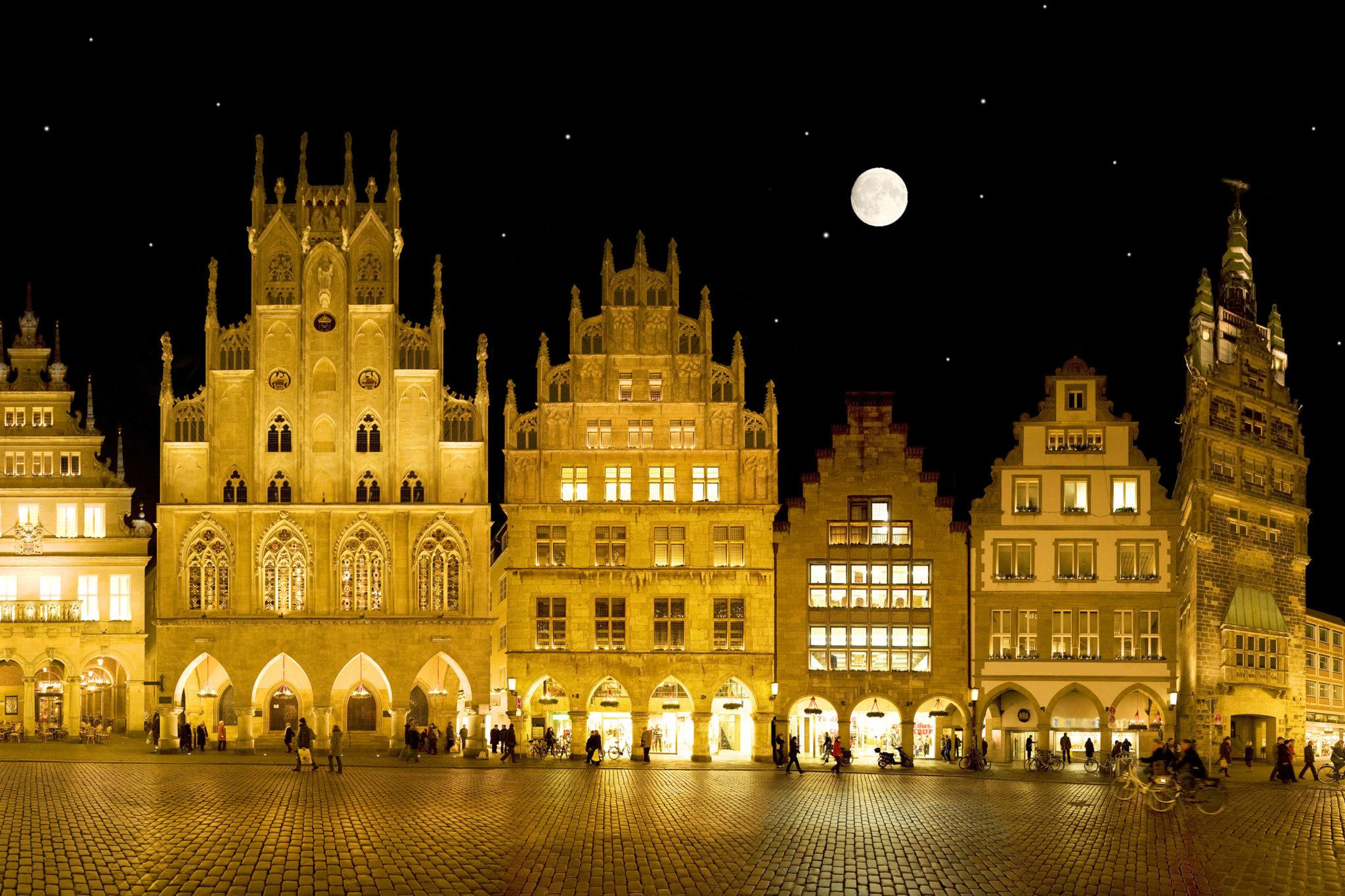 Der Prinzipalmarkt in Münster
