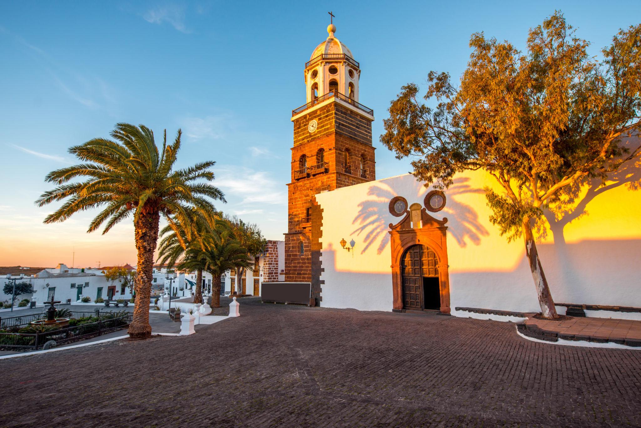 Der schöne Ort Teguise auf Lanzarote