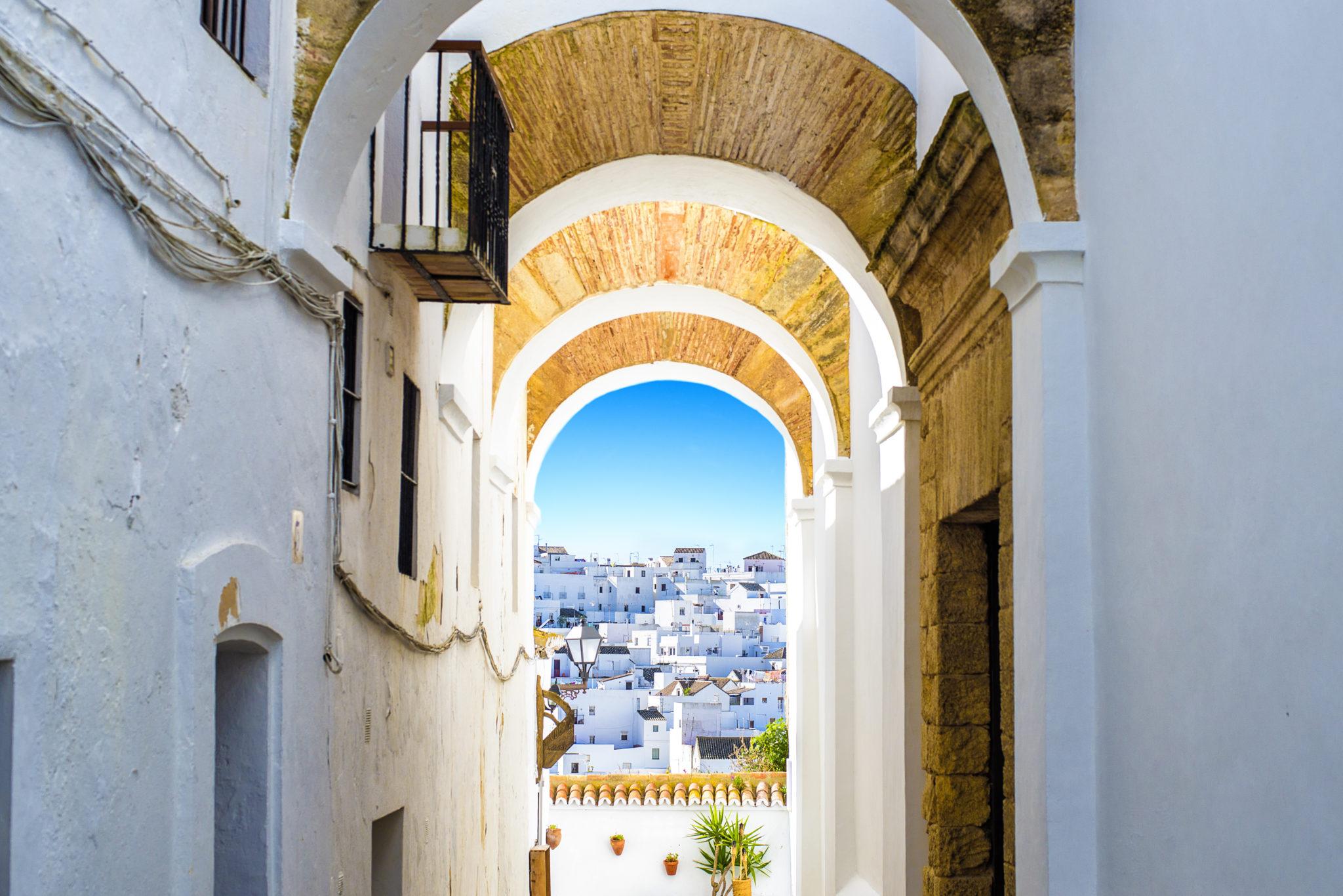 Vejer De La Frontera in Andalusien
