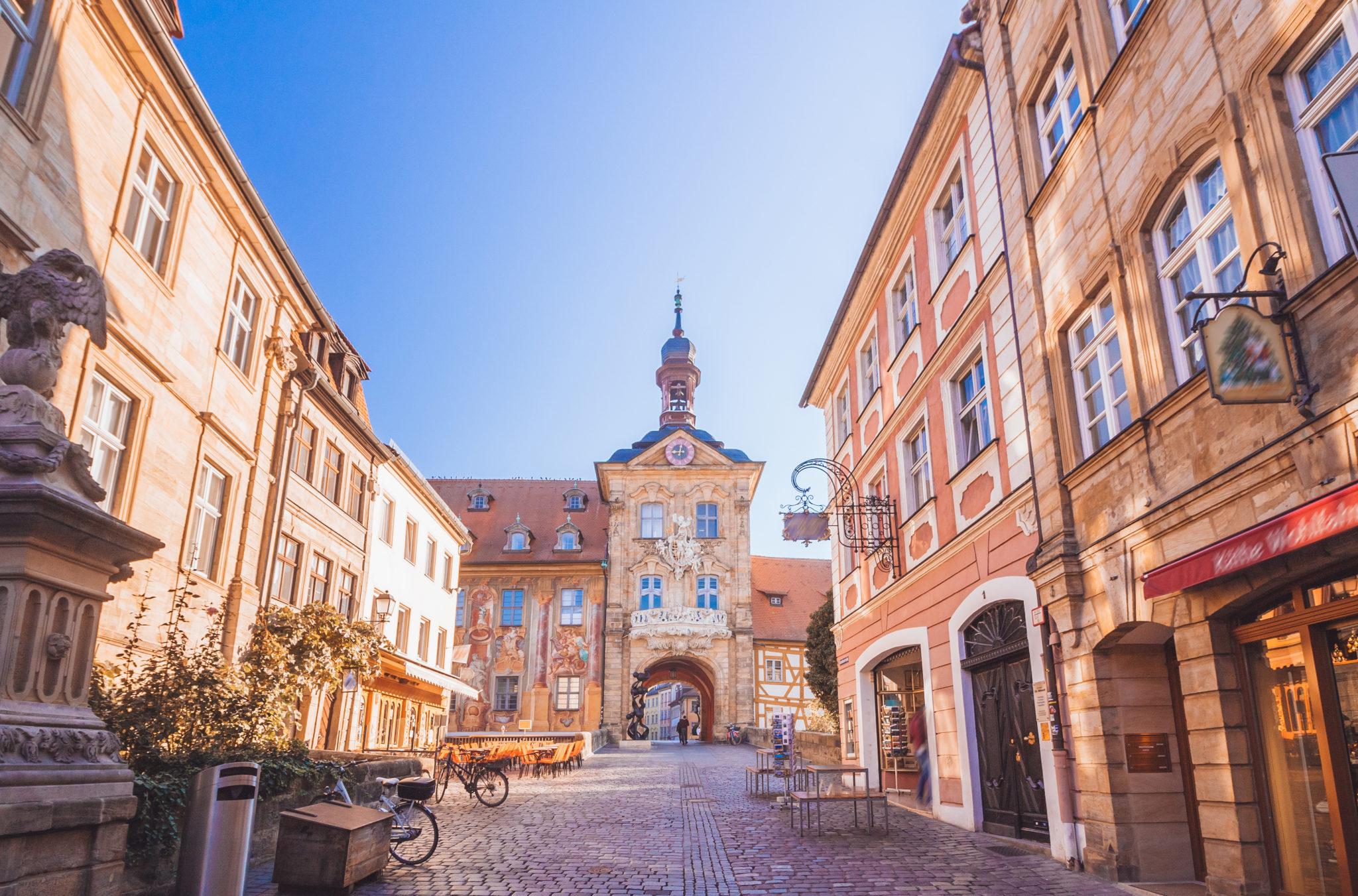 Die wunderschöne Altstadt von Bamberg