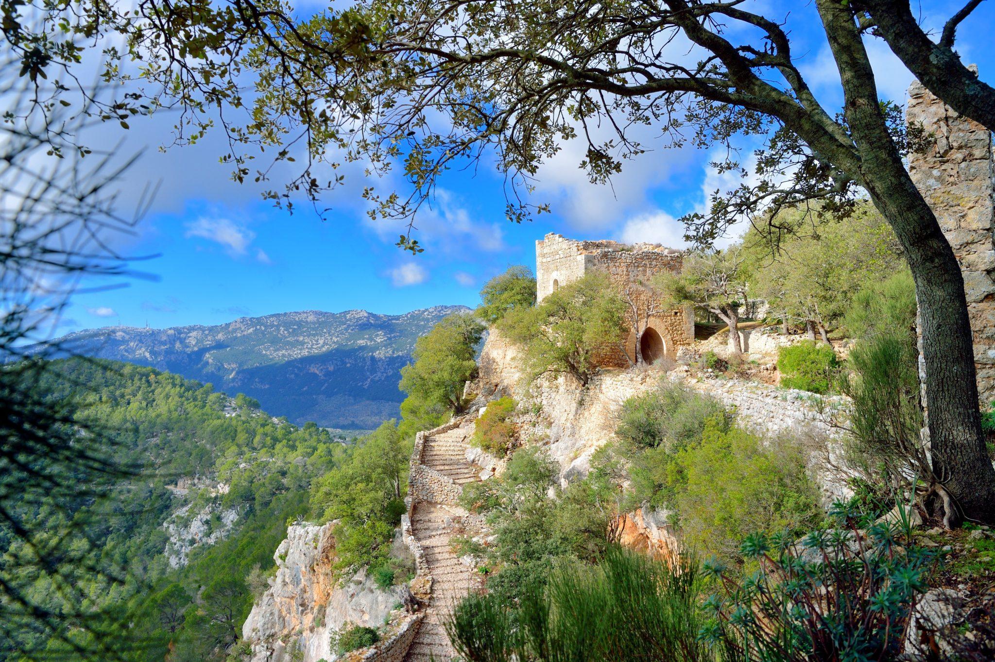 Castell d´Alaró auf Mallorca