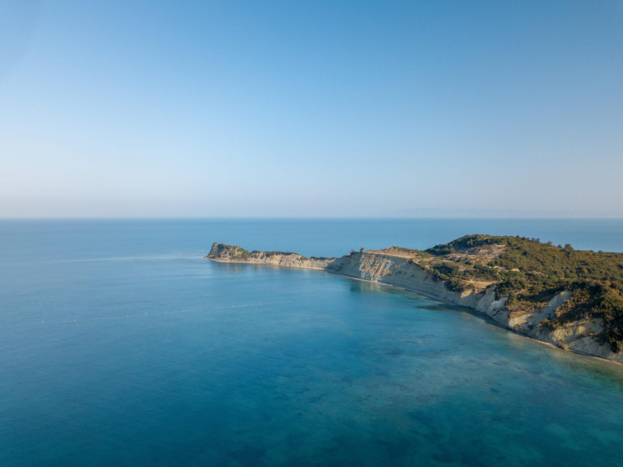 Das Kap Rodon in der Nähe von Durrës