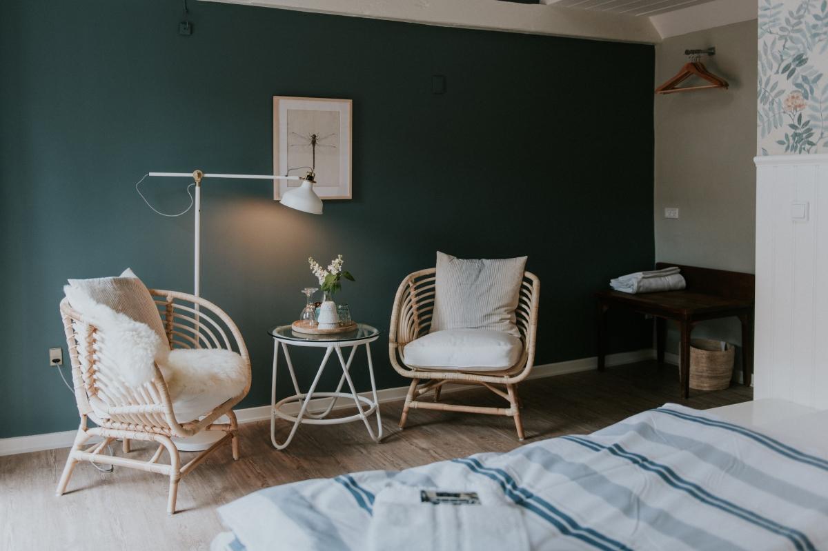Dänisches Design in den Zimmern des Pa Torvet © Pa Torvet Hotel