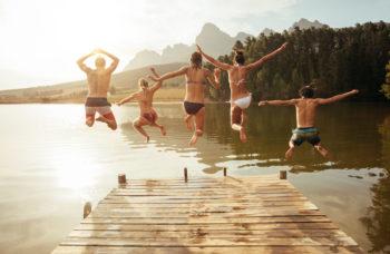 Top 10 für Urlaub am See